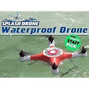GARLUS Splash Drone (Mariner 2) Waterproof Drone Amphibious UAV quardcopter Waypoint Autonomous Version with 2.7K HD sports camera