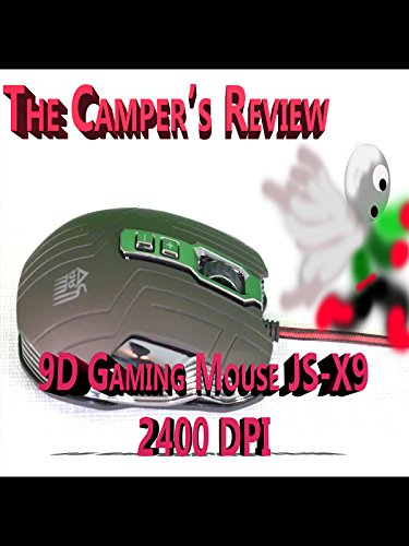 9D Sword Master X9 2400DPI Optical Wired Gaming Mouse