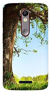WOW Printed Designer Mobile Case Back Cover For Motorola Moto X Force