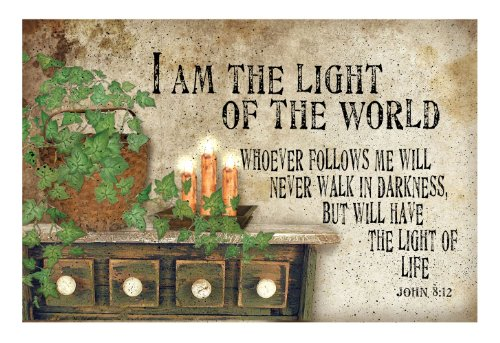 Ohio Wholesale Radiance Lighted Canvas Wall Art, Light Of The World Design, From Our Everyday Collection