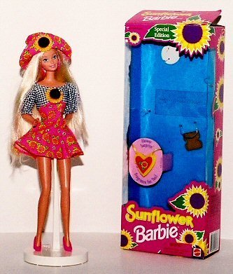 Barbie Doll Sunflower Mint in Box