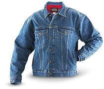 Guide Gear 100 gram Thinsulate Insulation Lined Denim Jacket Stonewash, STONEWASH, M