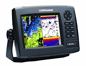 Lowrance HDS-7 GEN2 Plotter Sounder, with 6.4-inch LCD, Insight USA Cartography, and... by Lowrance