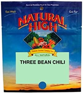 Natural High Freeze Dried Three Bean Chili by Natural High