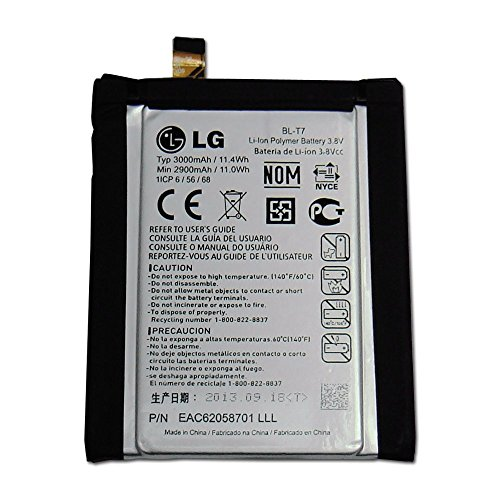LG BL-T7 3000mAh Battery