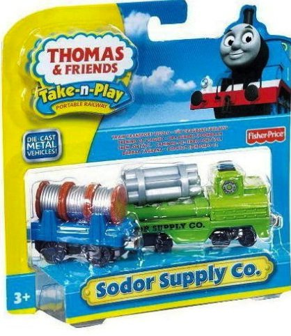 Thomas the Train: Take-n-Play Sodor Supply Co. - 1