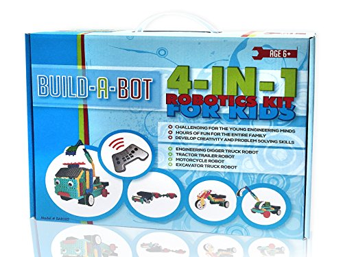 Robotics Kit for Kids, #1 Premium Build a Remote Control Robot, Perfect Set for Young Kids Who Like to Build Things, Intermediate Difficulty (Kids Can Build compare prices)