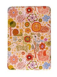 KolorFish Funky Designer Series Leather Stand Flip Case Cover for Apple iPad Mini, iPad Mini 2, iPad Mini 3 (Zoo)