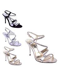 suchergebnis auf f r gold sandalen damen schuhe handtaschen. Black Bedroom Furniture Sets. Home Design Ideas