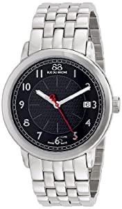 88 Rue du Rhone Men's 87WA120028 Analog Display Swiss Quartz Black Watch
