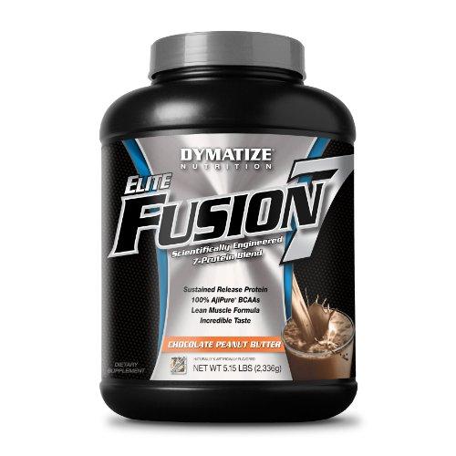 Dymatize Nutrition Elite Shake, Fusion Chocolate Peanut Butter, 5.15 Pound
