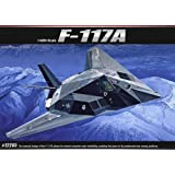 ACADEMY_1 48scale model kit F-117A STEALTH ATTACK-BOMBER FA173(2118) by Academy Models