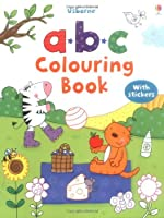 ABC Colouring Sticker Book (First Colouring Books)