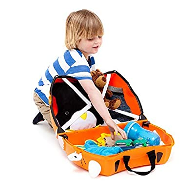 Trunki Ride-on Suitcase - Tipu the Tiger (Orange)