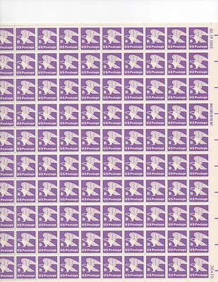 US Postage B Sheet of 100 x 18 Cent US Postage Stamps NEW Scot 1818