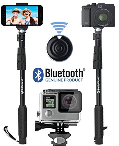professional 10 in 1 selfie stick gopro monopod bluetooth remote control shutter for go pro. Black Bedroom Furniture Sets. Home Design Ideas