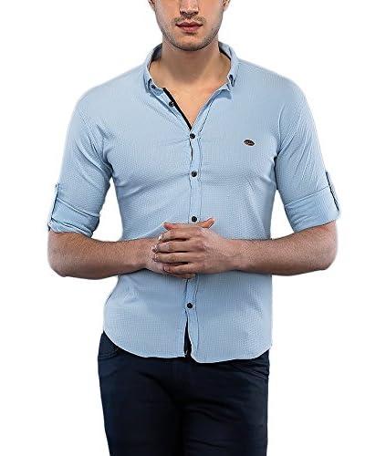 Philip Loren Hemd blau