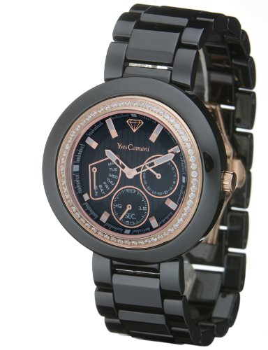 Yves Camani Toulouse Black YC1008-A Ladies Watch