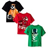 The Children's Place Big Boys' Graphic Tee (Pack of 3), Multi, Large/10/12