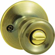 Steel Pro Bed And Bath Lockset-AB CP TULIP PRIVACY LOCK
