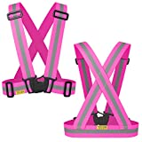 The Tuvizo Pink Reflective Vest provi...