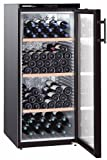 Liebherr WKB 3212 freestanding Thermoelectric wine cooler Black 164bottle(s) A - wine coolers (Freestanding, Black, Stainless steel, 4 shelves, 1 door(s), Black)