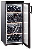 Liebherr WKB 3212 Freestanding Thermoelectric wine cooler Black 164bottle(s) A wine cooler - Wine Coolers (Freestanding, Black, Stainless steel, 4 shelves, 1 door(s), Black)