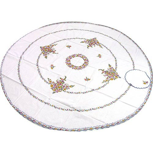 Round Table Cloth and Napkins from Kashmir