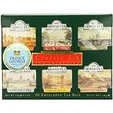 Ahmad Tea Classic Six (Pack of 1, Total 60 Tea Bags)