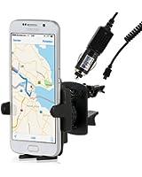 Wicked Chili Support de voiture avec chargeur et câble, 1000 mA, microUSB pour Samsung Galaxy S3 i9300