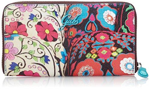 GabsGMONEY - Portafogli Donna , Multicolore (Mehrfarbig (SO191)), 19x11x2 cm (B x H x T)