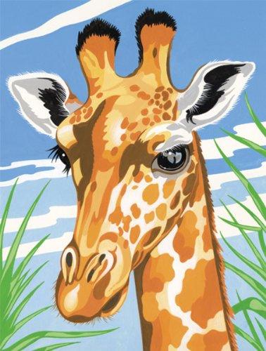 Reeves Medium Painting By Numbers - Giraffe
