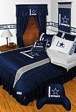 Dallas Cowboys TWIN 11 Pc Bedding Set (Comforter, Sheet Set, Pillow Case, Sham, Valance/Drape Set & Matching Wall Hanging) – SAVE BIG ON BUNDLING! thumbnail