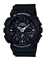 Casio G-Shock Analog-Digital Black Dial Men's Watch - GA-120-1ADR (G346)