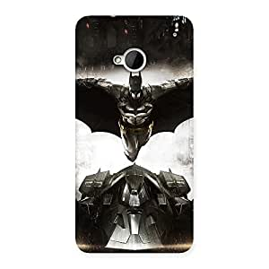 Impressive Knight Ride Back Case Cover for HTC One M7