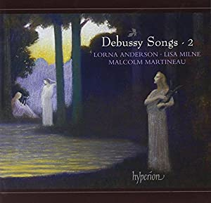 Debussy: Songs Volume 2 (Hyperion: CDA67883)