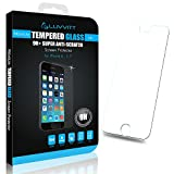 LUVVITT® iPhone 6 TEMPERED GLASS Screen Protector for iPhone 6 Air 4.7 inch (Does NOT fit iPhone 5 5S 5C 4 4s or iPhone 6 Plus 5.5 inch screen) iPhone 6 Screen Protector - Crystal Clear