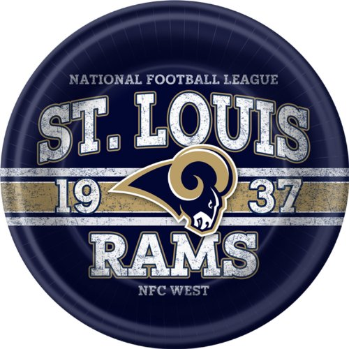 St Louis Rams Dinner Plates
