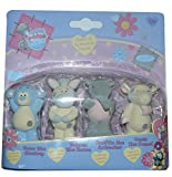 Tatty Teddy and My Blue Nose Friends Figures 4 Pack - Coco, Bobbin, Snuffle & Oasis