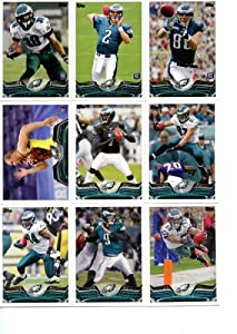 Philadelphia Eagles 2013 Topps Complete Hand Collated Regular Issue 14 Card Team Set... by Philadelphia Eagles Team Set