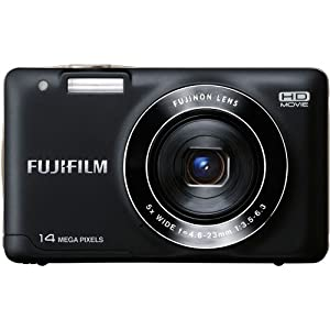 Fujifilm FinePix JX500 Digital Camera (Black) (OLD MODEL)