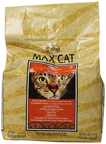 Max Adult Roasted Chicken Flavor Cat Food, 3-Pound