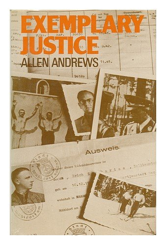 Exemplary justice: Allen Andrews: 9780245527753: Amazon.com: Books
