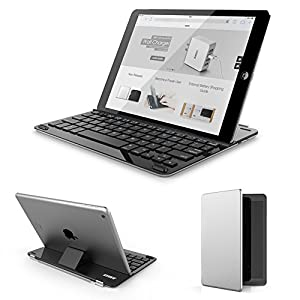 Anker® Bluetooth Ultra-Slim Keyboard Cover for iPad Air 2 / Air with 6-Month Battery Life Between Charges and Comfortable Low-Profile Keys TC930