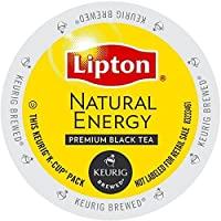 Lipton K-Cup Portion Pack for Keurig Brewers, Natural Energy Tea, 24 Count