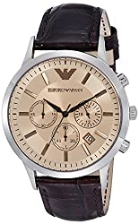 Emporio Armani Analog Brown Dial Mens Watch - AR2433