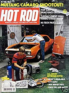 All About Nitrous Kits - cover story - January, 1984
