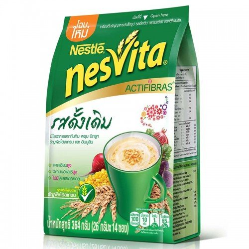 [Nesvita Milk Cereal Whole-Grain Original 364g] (Quaker Costumes)
