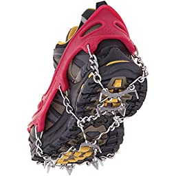 Kahtoola MICROspikes Footwear Traction Red Medium
