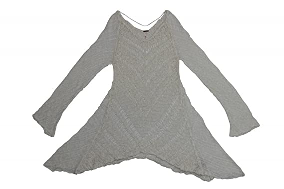 Free People Pointelle Bell Pullover